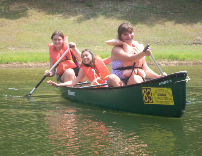Canoe at Grace Bible Camp