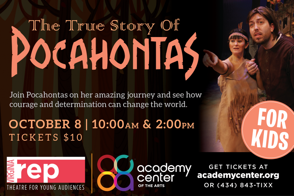 See The True Story of Pocahontas in Lynchburg